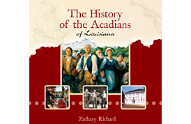 History of the Acadians Book Design
